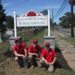 Classic Landscaping - Piscatawaytown Burial Ground Community Service Project
