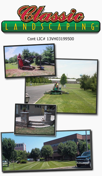 Classic Landscaping contact us